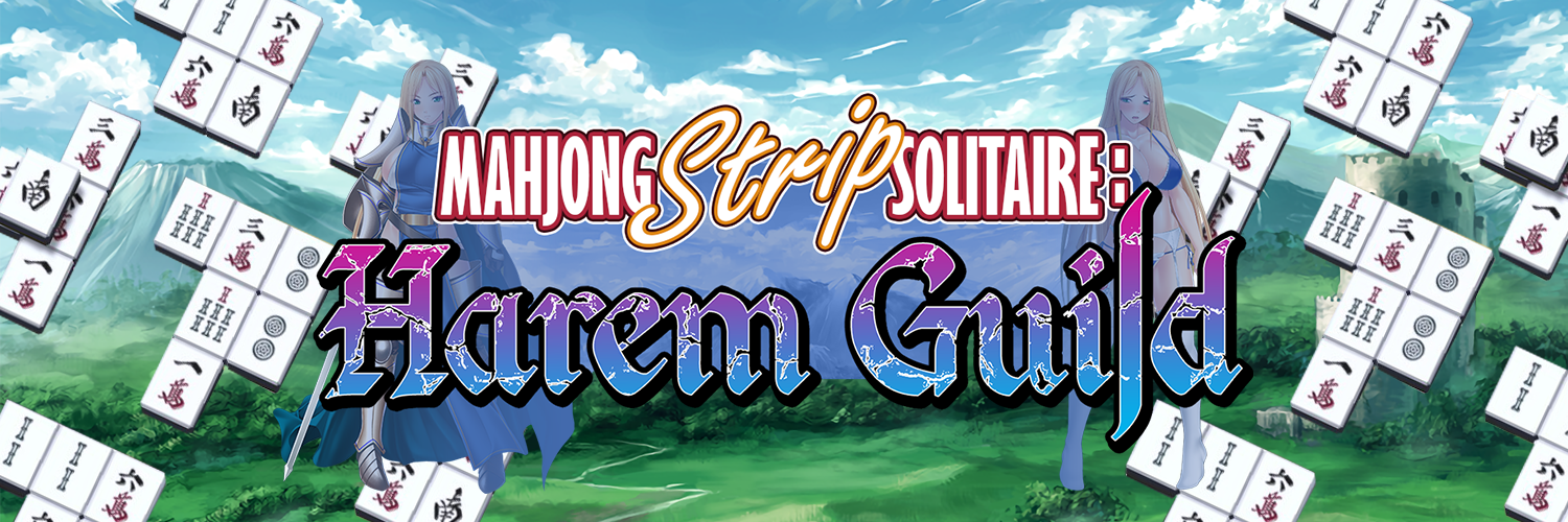 Mahjong Stripe Solitaire: Harem Guild – Cherry Kiss
